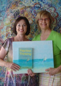 Carol with cover artist Susan Wood